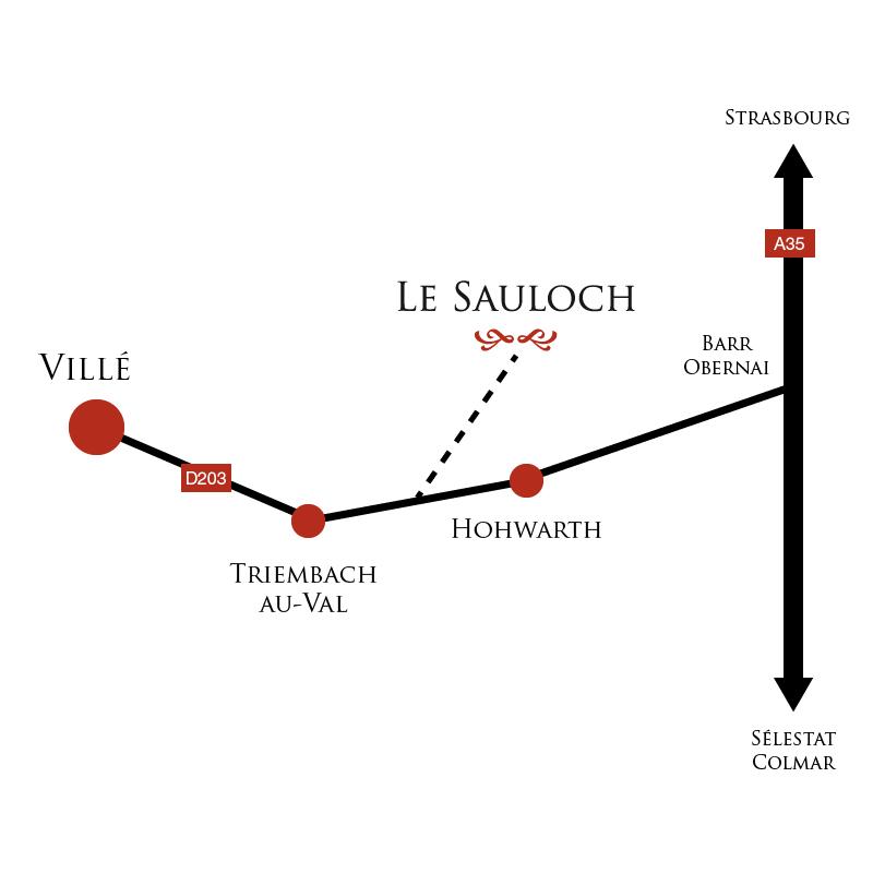 Carte localisation Sauloch